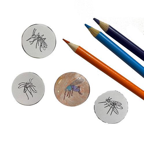 DNA Amber Bug Craft