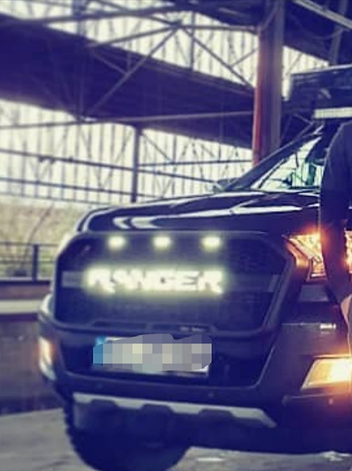 Für Ford Ranger T7 passender Raptor-Look-Grill m LEDs