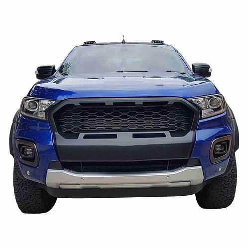 Für Ford Ranger T8 passender XL-Hai-Look-Grill m LEDs
