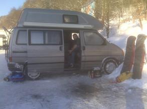 Wintercamping in Winterberg