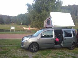 Hybriddachzelt Family mit TPU auf Berlin