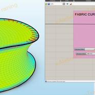 Kangaroo Hybrid, Curvature Analysis and Surface Planarization