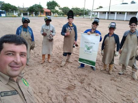 Senar-RS ministra curso de soldador rural  no SRC