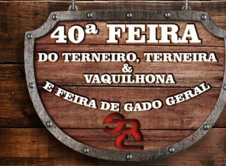 Lançada a 40ª Feira do Terneiro, Terneira & Vaquilhona e Feira de Gado Geral do Sindicato Rural