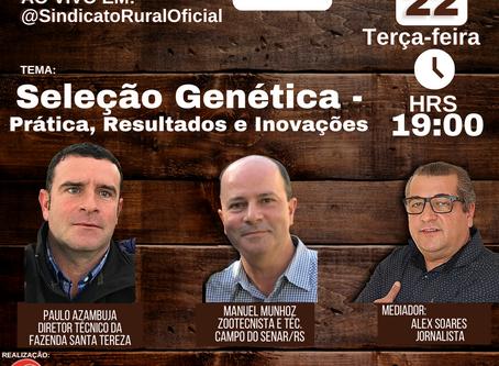 Genética e inovações na pecuária são destaques na Live de hoje do SRC