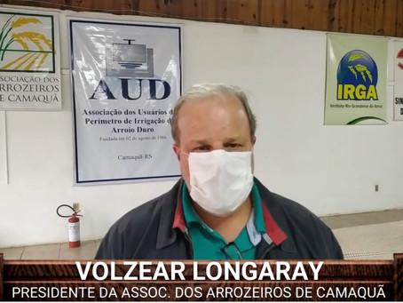 1º CURSO DE AGUADOR DE LAVOURA DE ARROZ, SUPRE UMA DEMANDA REPRIMIDA NA PRODUÇÃO ORIZÍCOLA