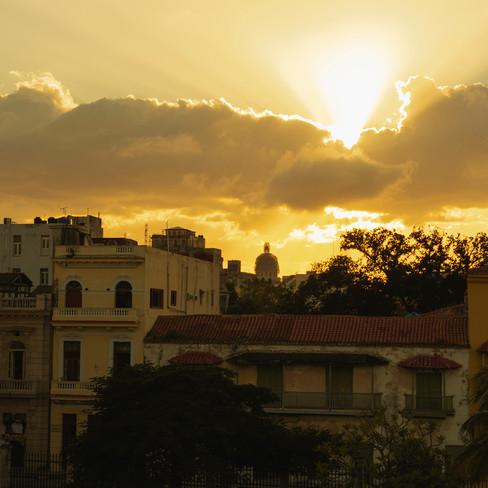 Blinding Sunset