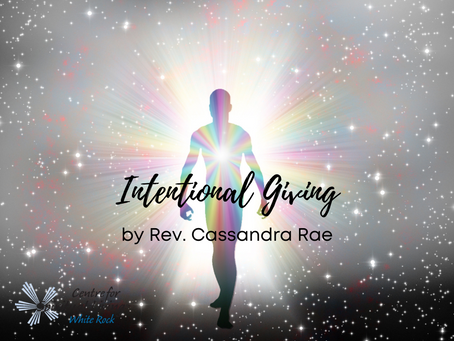 Becoming an Intentional Giver