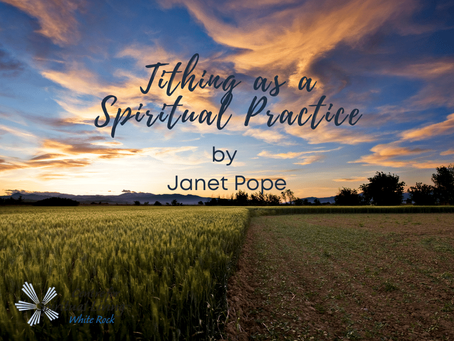 Tithing as a Spiritual Practice