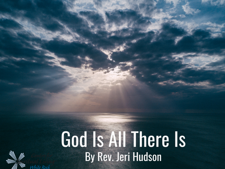 God Is All There Is