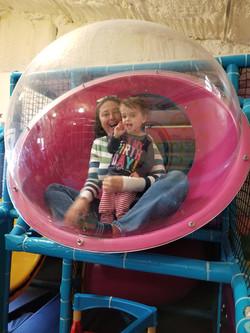 We love the bubble