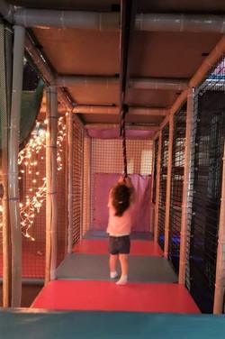 Zipline and lights!