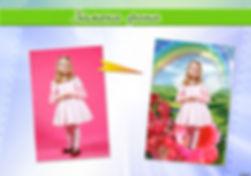Замена фона, ретушь и восстановление старых фото