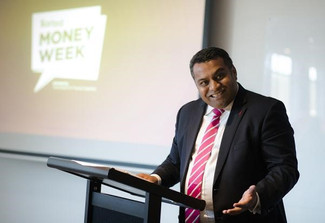 Minister helps launch 2018 Money Week