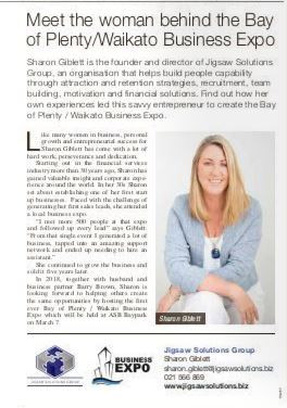 Meet the woman behind the Bay of Plenty/Waikato Business Expo