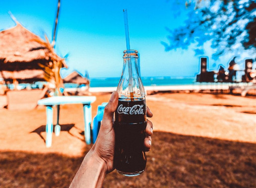 A bottle of coke may help your spenditude