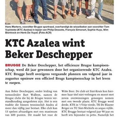 KTC Azalea wint Beker Deschepper