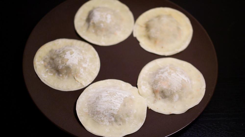 raviole ravioles pre-cuisson