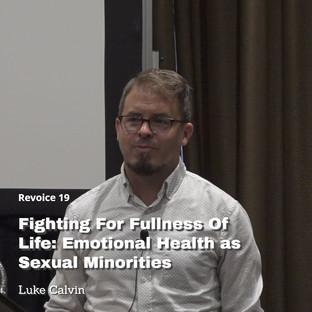 Luke Calvin   Fighting for Fullness
