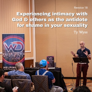 Ty Wyss | Experiencing Intimacy with God & Others as the Antidote for Shame in Your Sexuality