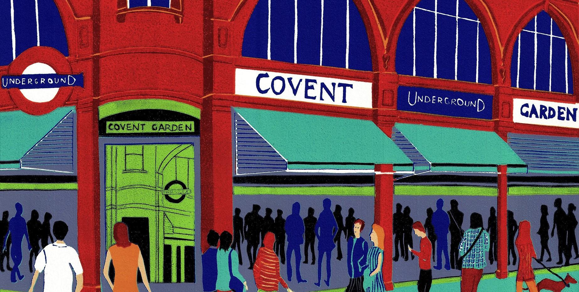 (Jennie Ing) Covent Garden Station