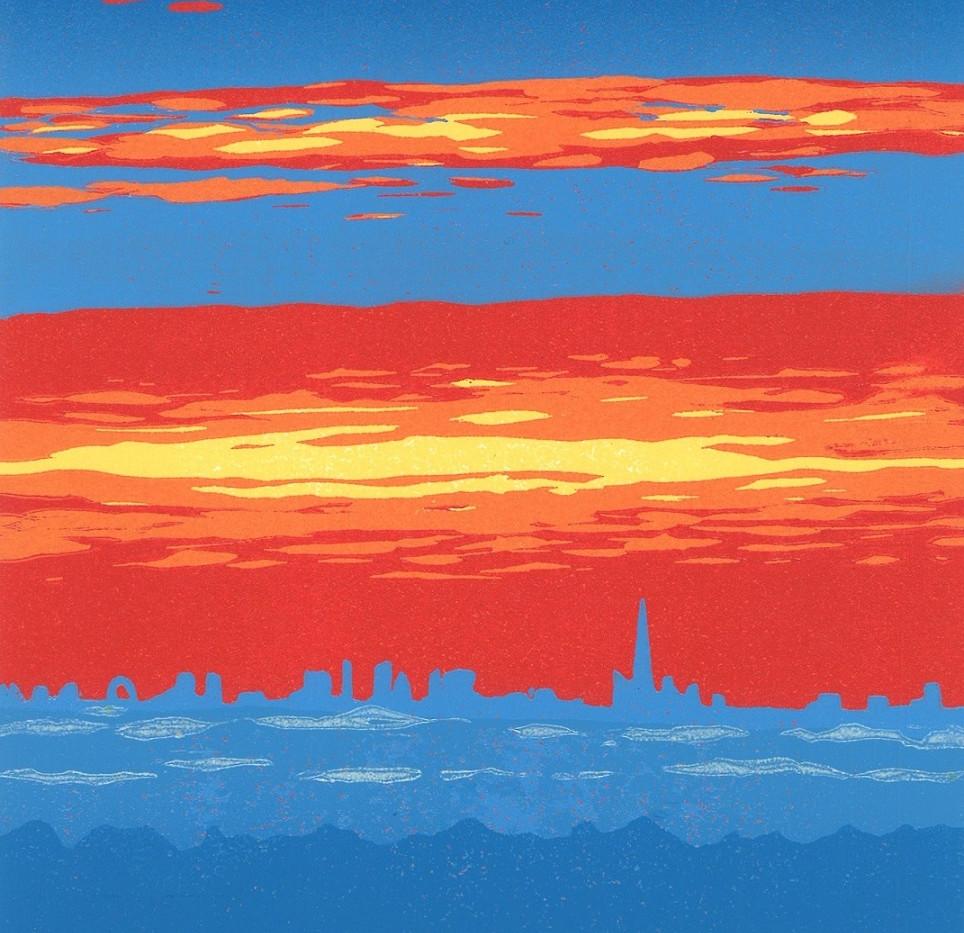 (Jennie  Ing) Sunrise over London (from the Hog's Back).jpg