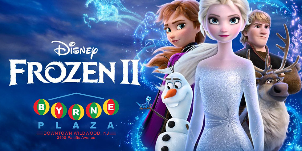 Free Family Movie in The Plaza - Frozen 2