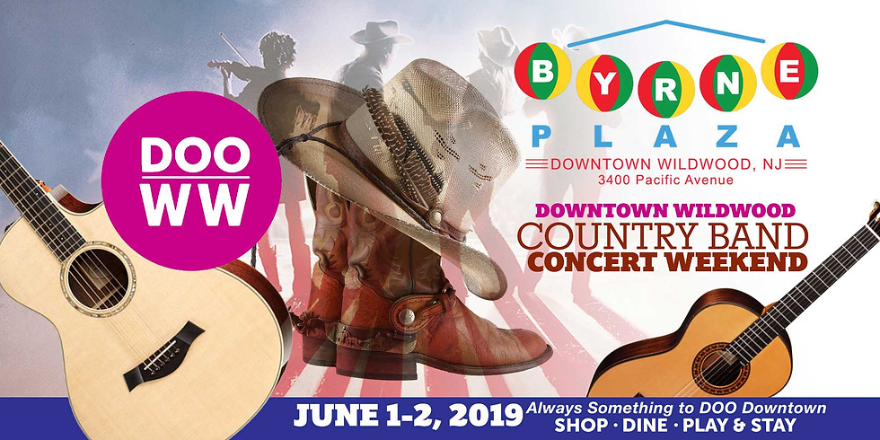 Downtown Wildwood Country Band Concert Weekend
