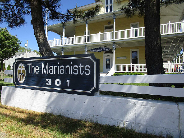 The Marianists 301 Address photo taken from Cape and Yale Ave, Rosary Corner