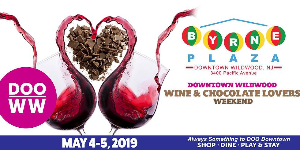 Downtown Wildwood Wine & Chocolate Lovers Weekend