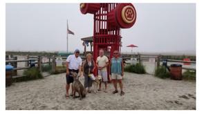 Family loves The Wildwood Dog Beach!