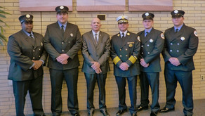 Wildwood Swears In Four Firefighters