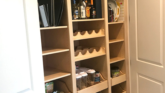 Rescue Woodworks Pantry Closet