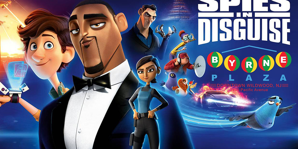 Free Family Movie in the Plaza - Spies in Disguise