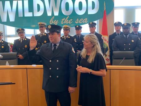 Two New Career Firefighter Sworn In: