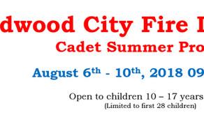 WFD Summer Cadet Firefighter Program