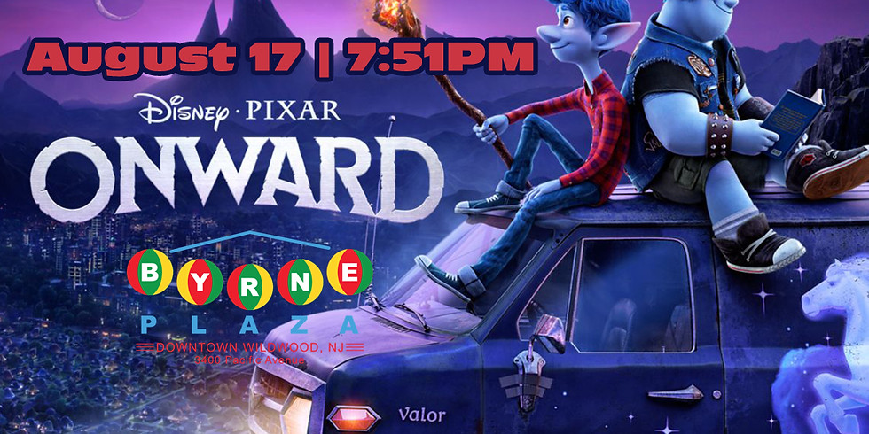 Free Family Movie in The Plaza - Onward