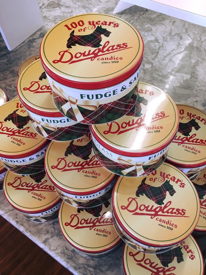 Douglass Candies Tins