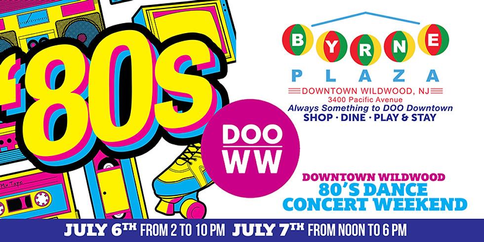 Downtown Wildwood 80's Dance Concert Weekend