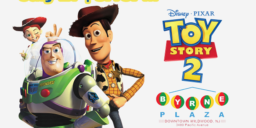 Free Family Movie in The Plaza -Toy Story 2