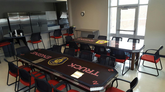 Rescue Woodworks Fire Co. Table