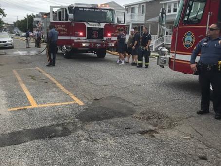 Baker Ave. Dwelling Fire: