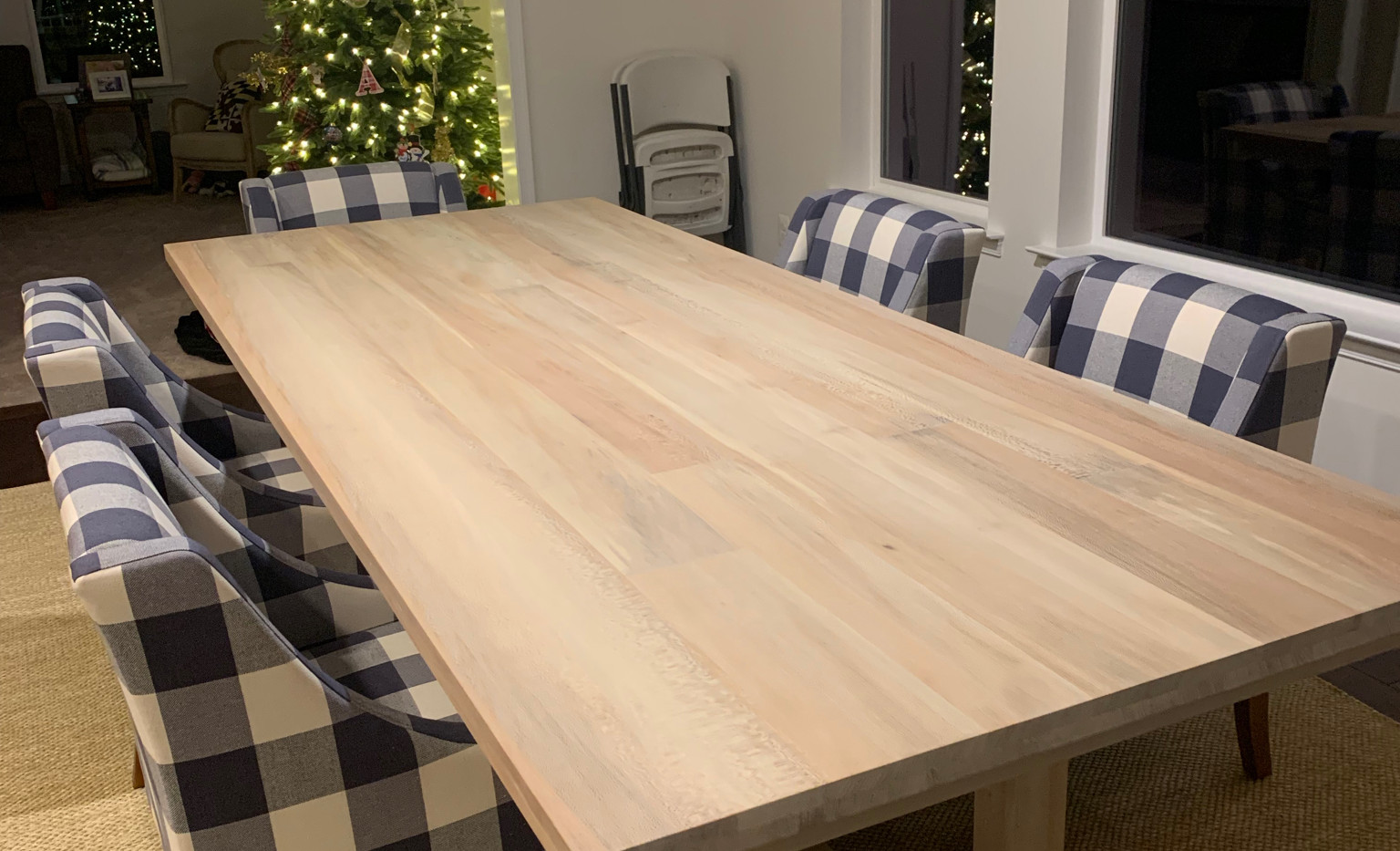 Rescue Woodworks Dining Table