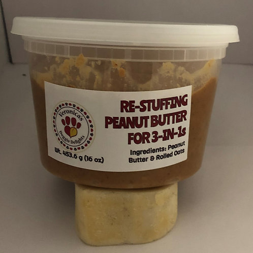 Re-Stuffing Peanut Butter Tub