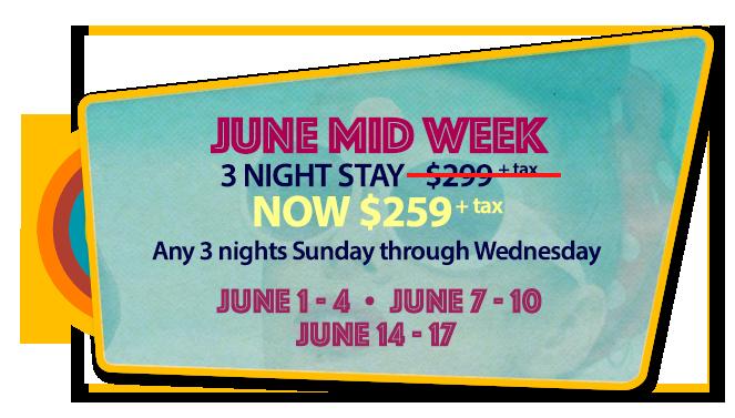 June Mid Week