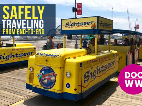 Boardwalk Repairs Planned - Tram Car Will Travel from end to end!