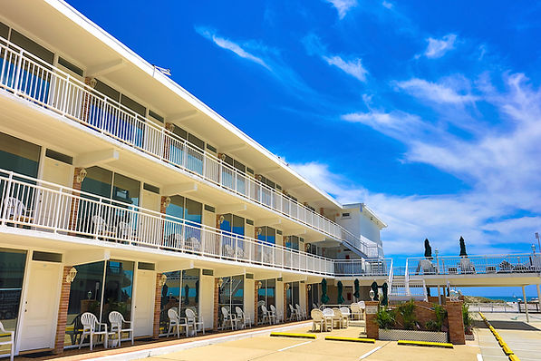 Commander by the Sea is oceanfront hote in Wildwood Crest
