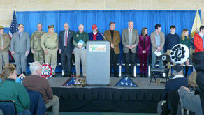 Governor-Elect Murphy Veterans' Wreath Laying Event
