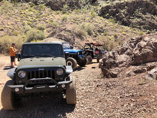 Backway to The Desert Bar