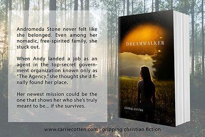 Dreamwalker carrie cotten book release q